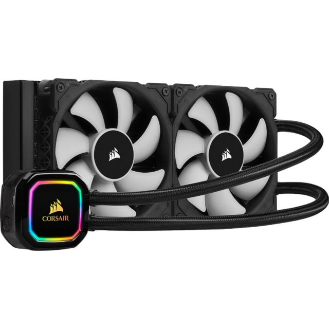Kit watercooling Corsair iCUE H100i PRO XT - RGB - 280 mm