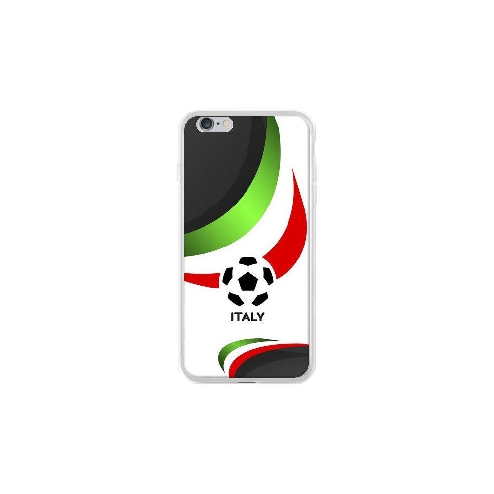Apple - Coque iPhone 6 Plus et 6S Plus Equipe Italie Football - Madotta