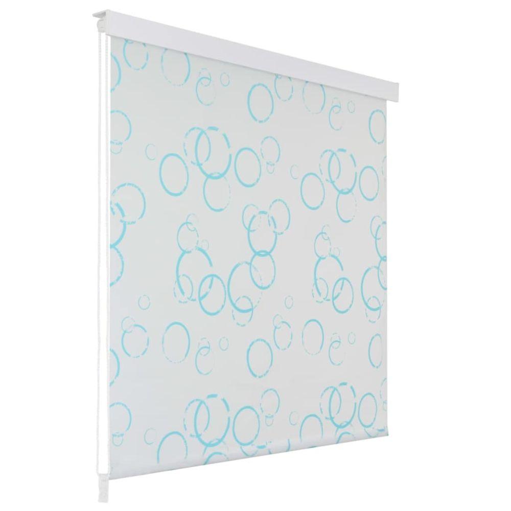 Vidaxl Store roulant de douche 100 x 240 cm Bulle - Maison et jardin/Accessoires de salle de bain/Rideaux de douche   Blanc   B