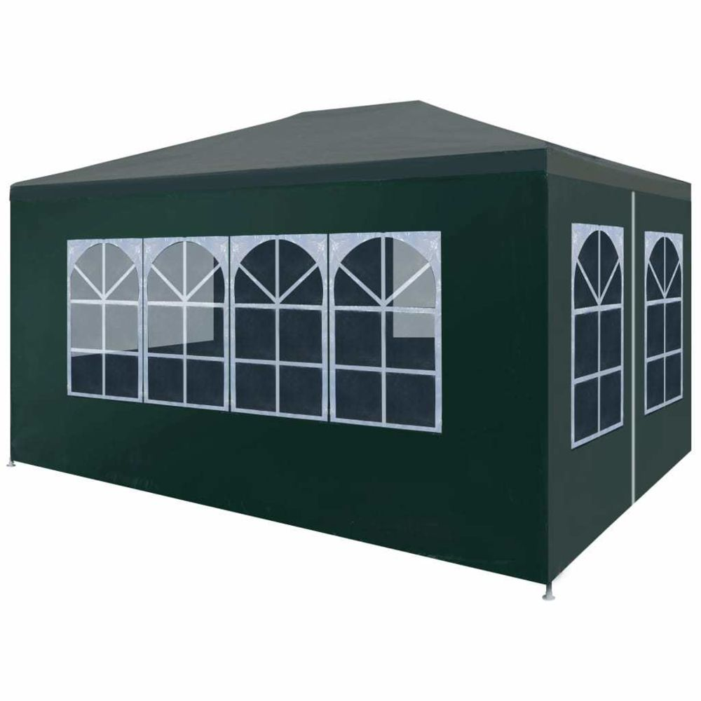 Vidaxl vidaXL Tente de Réception 3x4 m Vert Jardin Terrasse Patio Pavillon Tonelle