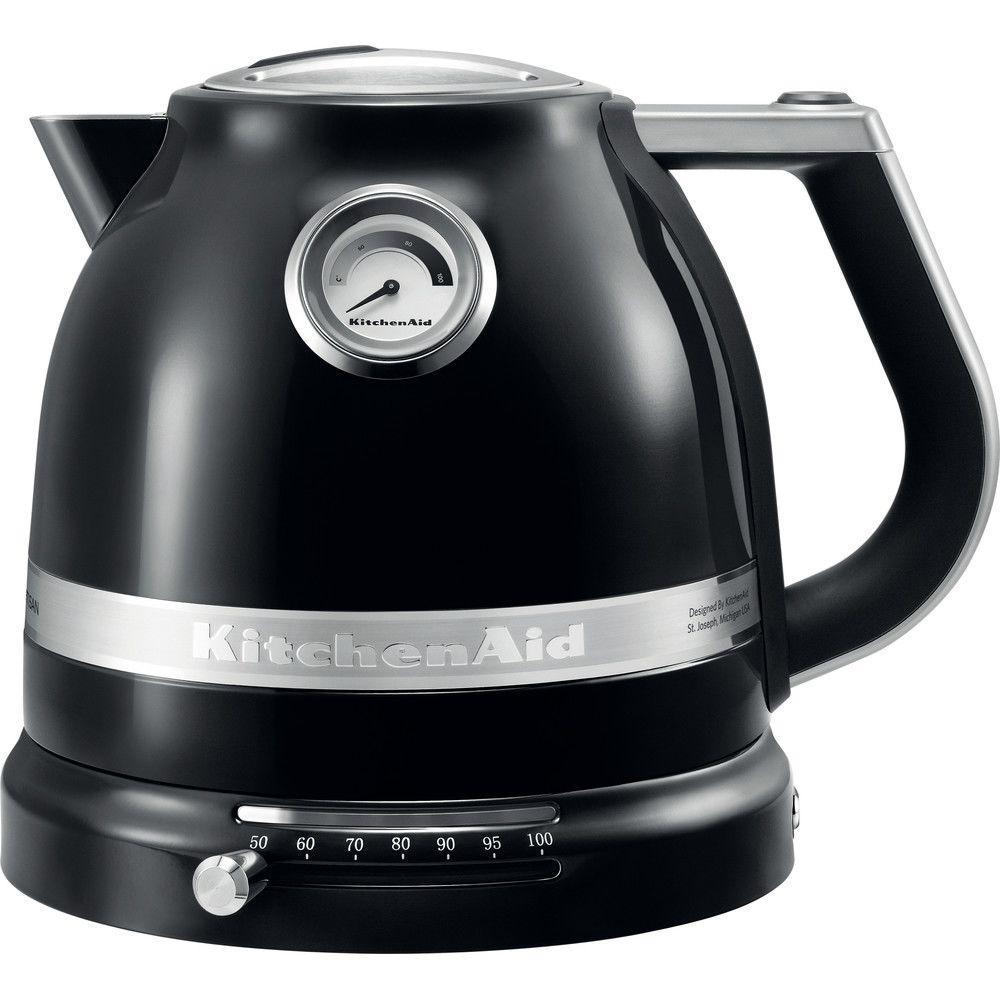 Kitchenaid bouilloire électrique de 1,5L 2400W noir onyx argent