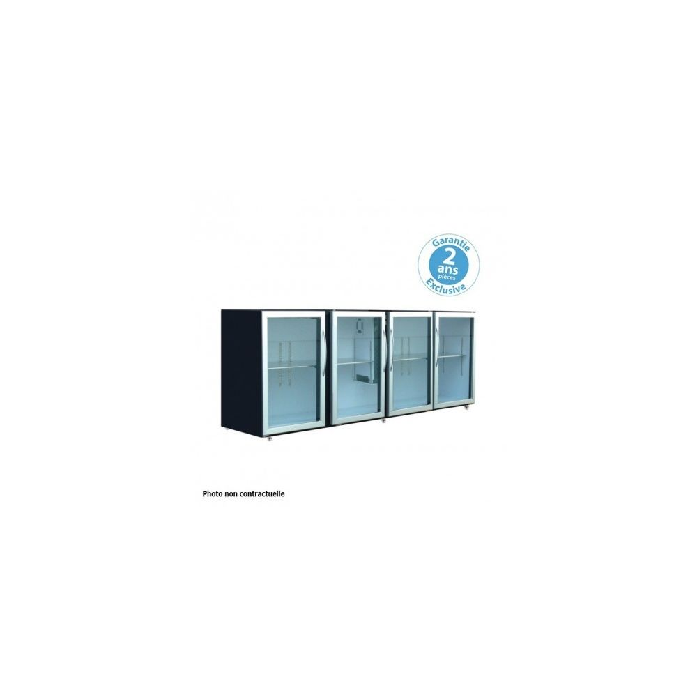 Materiel Chr Pro Arrière-bar - profondeur 540 - sans groupe - 4 larges portes vitrées - 722 litres -