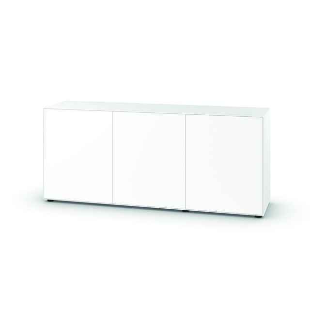 Piure - Commode Nex Pur  - Portes/Portes - H 75 cm - Commode