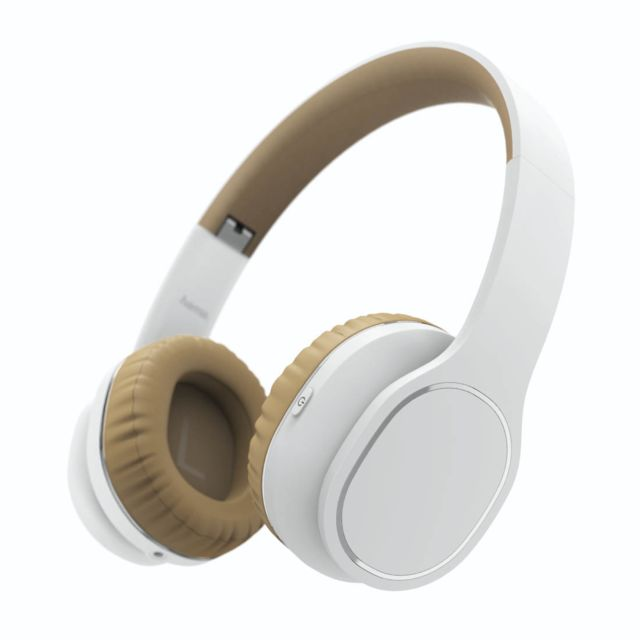 "Hama - Casque Bluetooth """"Touch"""" - Beige - Casque audio"