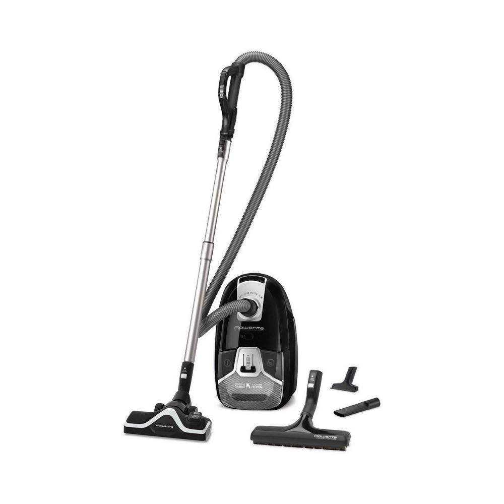Rowenta Aspirateur avec sac Silence Force Compact 4A Animal Care - RO6365EA