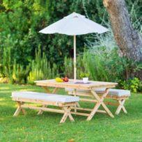 pique nique Achat pique bois Table nique bois en Table en Aj4RL35