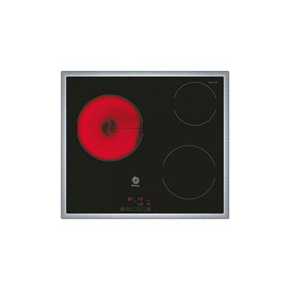 Balay Plaques vitro-céramiques Balay 3EB714XR 60 cm Noir (3 zones de cuisson)