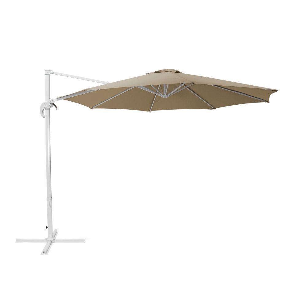 Beliani Beliani Grand parasol beige sable Ø300 cm SAVONA - moka
