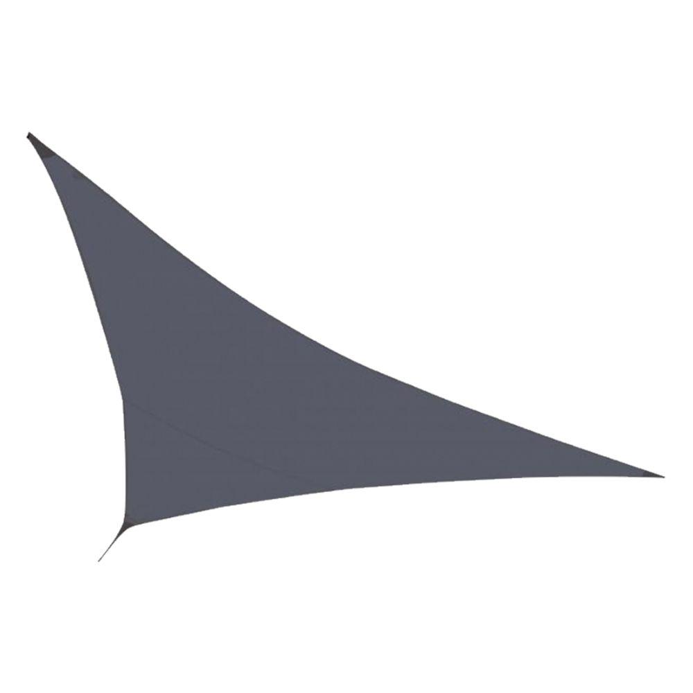 Cemonjardin Voile d'ombrage Gris 350 x 350 x 340 cm