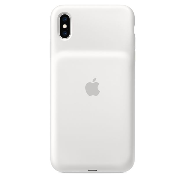 Apple - Smart Battery Case pour iPhone XS Max – Blanc - Accessoire Smartphone Iphone xs max
