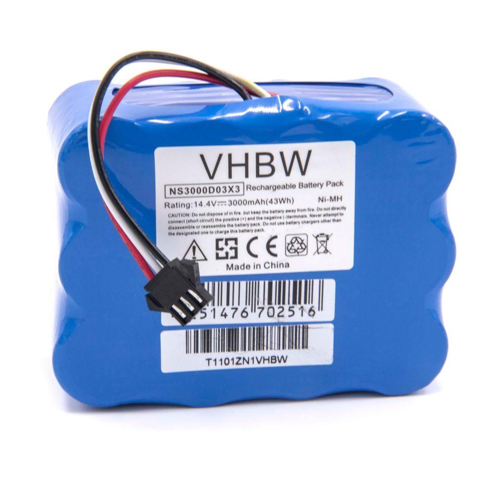 Vhbw vhbw NiMH batterie 3000mAh (14.4V) pour robot aspirateur Home Cleaner robots domestiques TCL R1, R2, R3