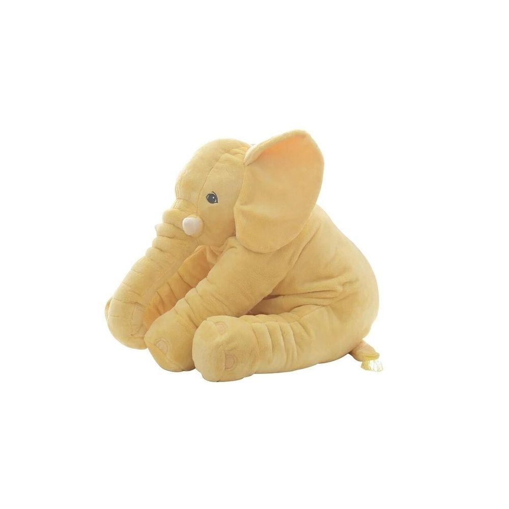Wewoo Peluche Éléphant Poupée Jouet Enfants Coussin Dos Bébé En MignonHauteur 60cm 800g Jaune