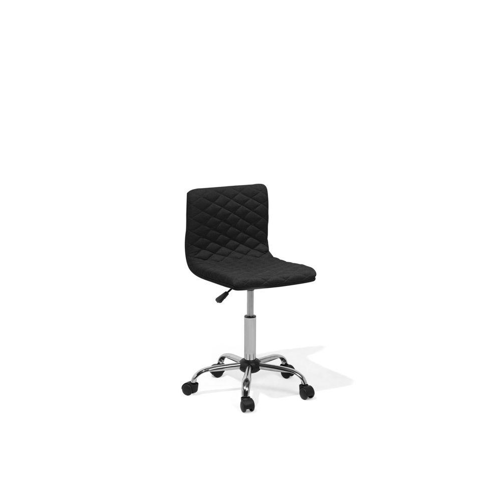 Beliani Beliani Chaise de bureau noire ORLANDO - noir