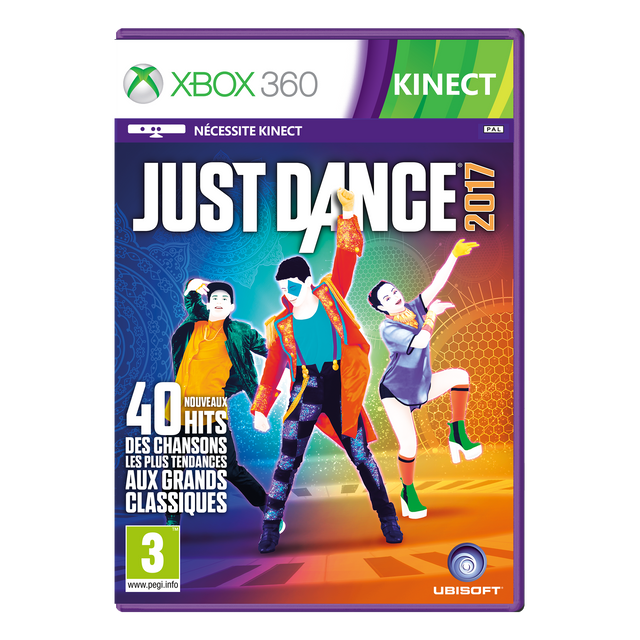 Ubisoft - JUST DANCE 2017 - XBOX 360 - Jeux XBOX 360