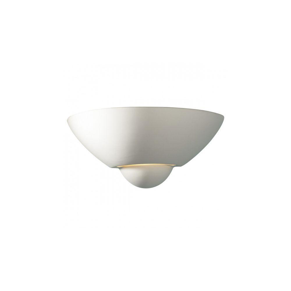 Luminaire Center Applique murale Vector blanc et céramique 1 ampoule