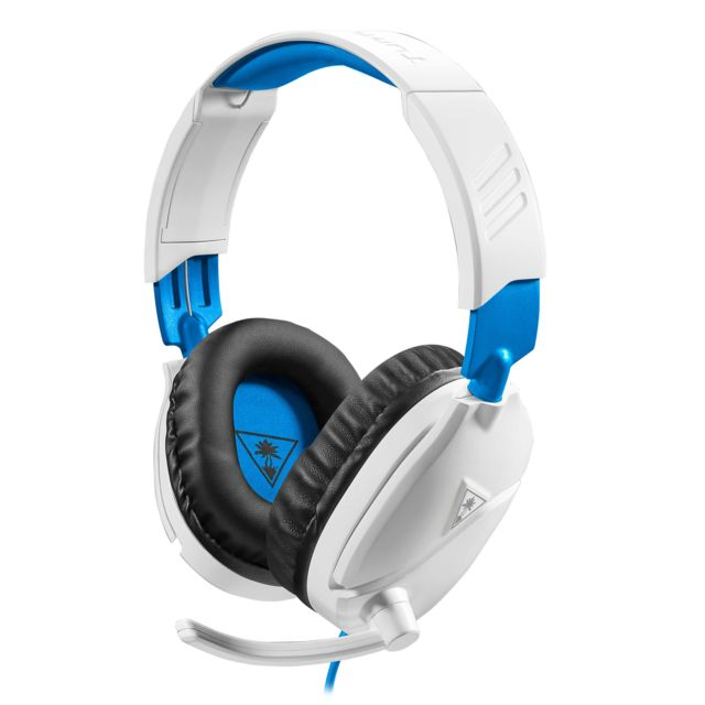 Micro-Casque Turtle Beach Recon 70P Blanc PS4 - Filaire