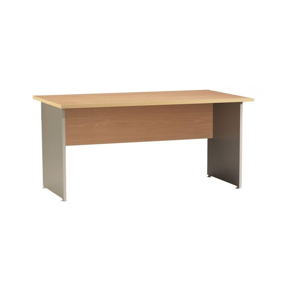 Simmob Bureau Winch 160 x 80 cm Hêtre Alu