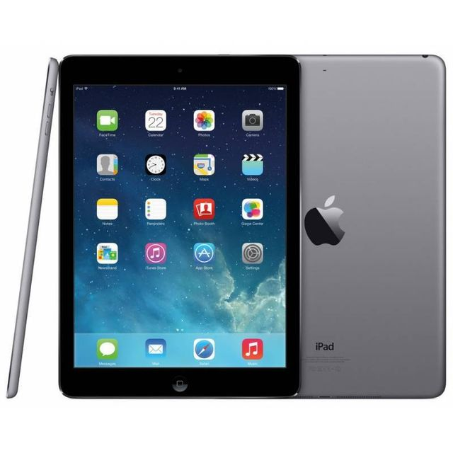 iPad Apple iPad Air - 64 Go - Wifi - Cellular - Gris sidéral MD793NF/A