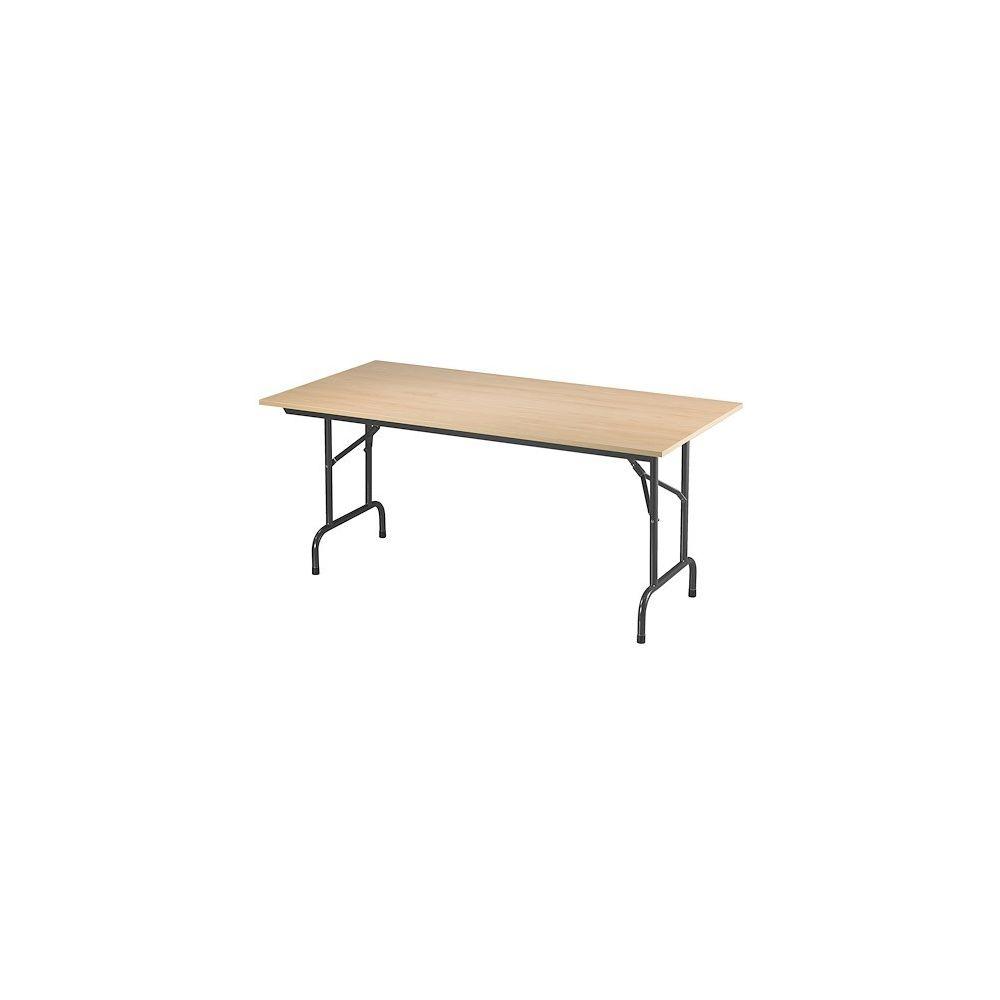 Nowystyl Tables pliantes Rico 160 x 80 cm piétement noir