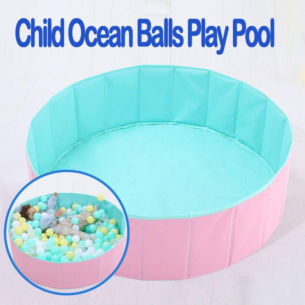 Generic Bébé enfants jouer jeu clôture portable balle pliante enfant océan balles jouer piscine - vert