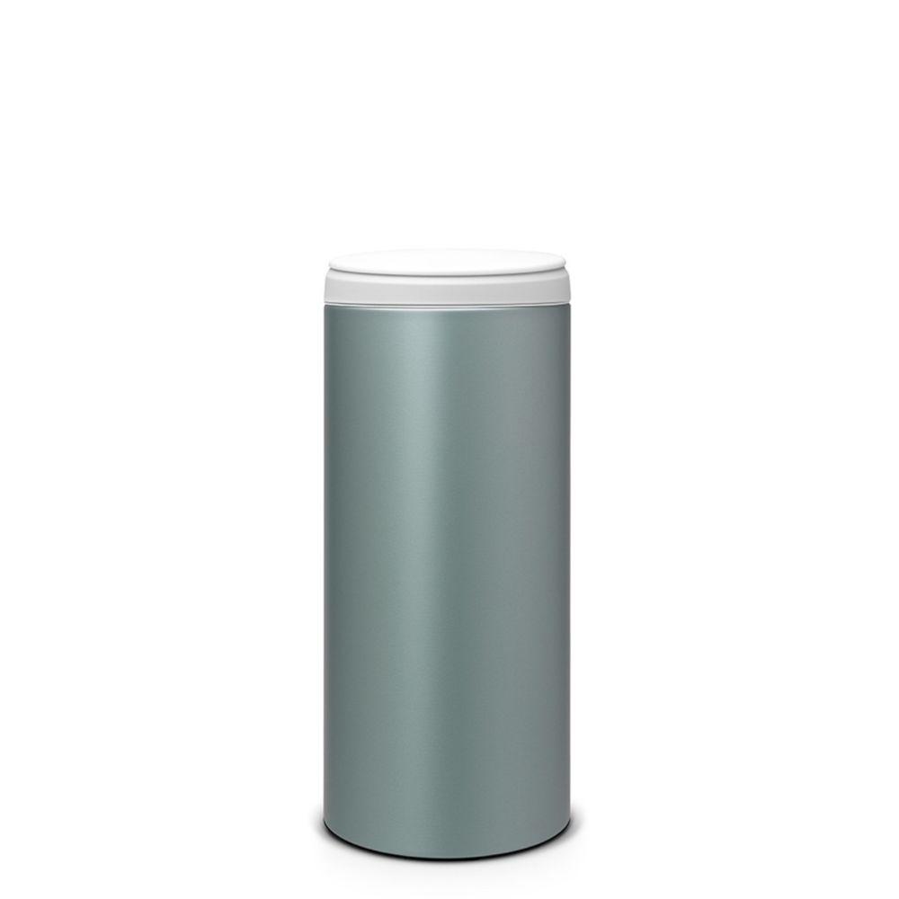 BRABANTIA brabantia - poubelle 30l métallique blanc - 106880