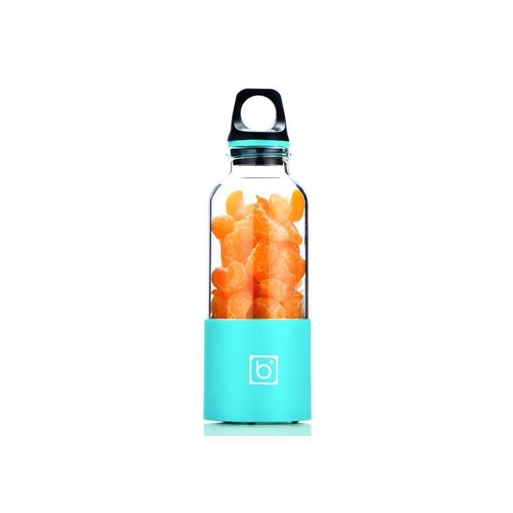 Marsee Presse-agrumes électrique Bouteille Portable 500ml Extracteur de jus Blender USB Rechargeable - Bleu