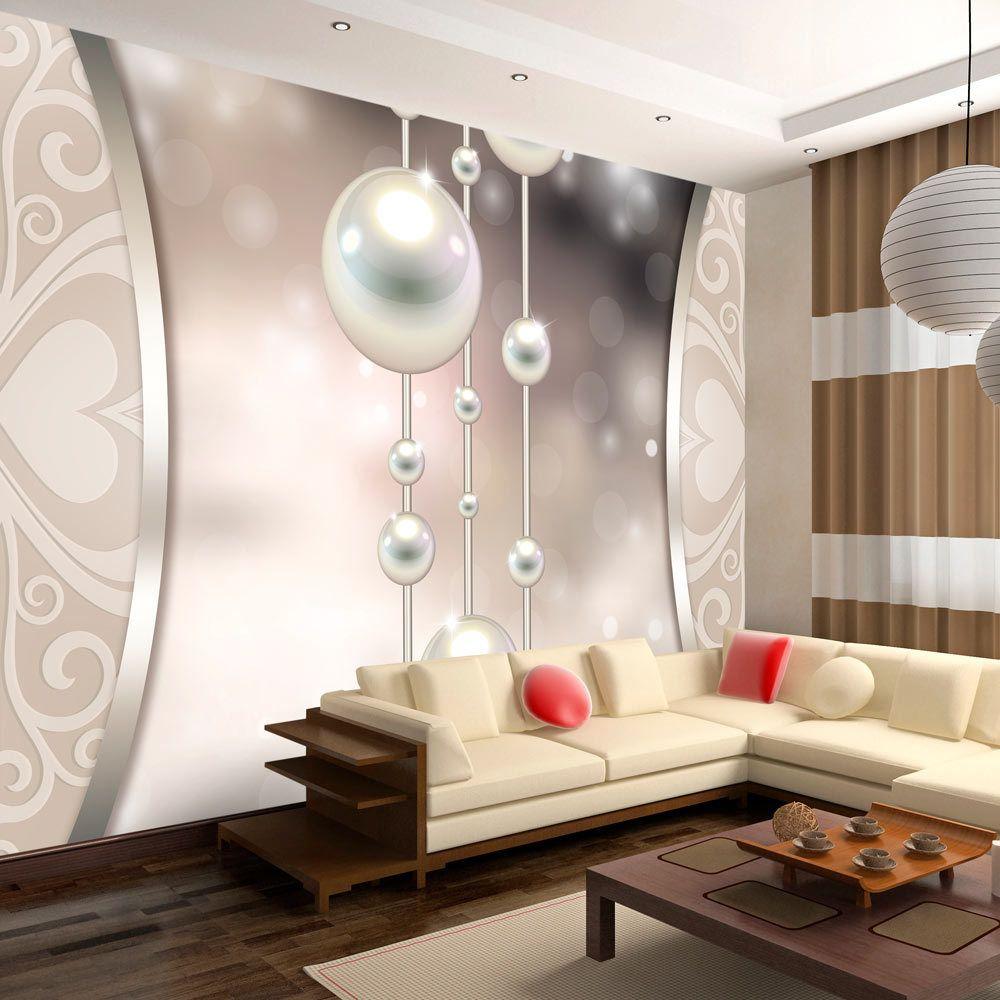 Bimago Papier peint - String of pearls - Décoration, image, art | Abstractions | Moderne |