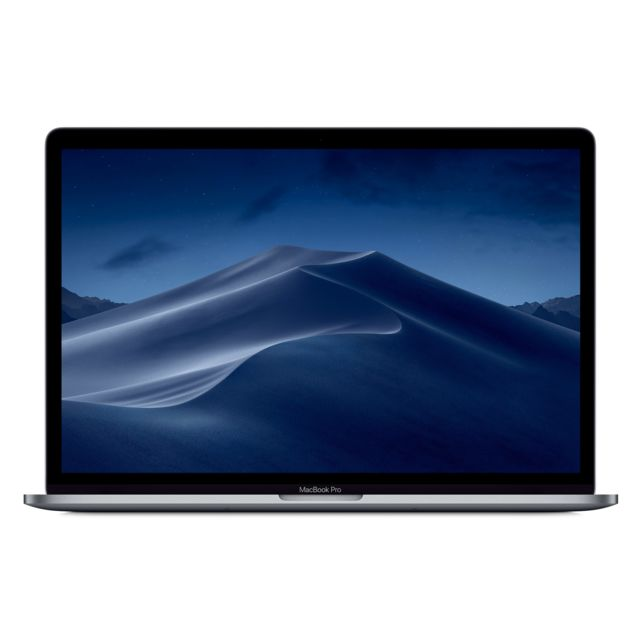 Apple - MacBook Pro 15 Touch Bar - 512 Go - MR942FN/A - Gris Sidéral - Ordinateur portable reconditionné