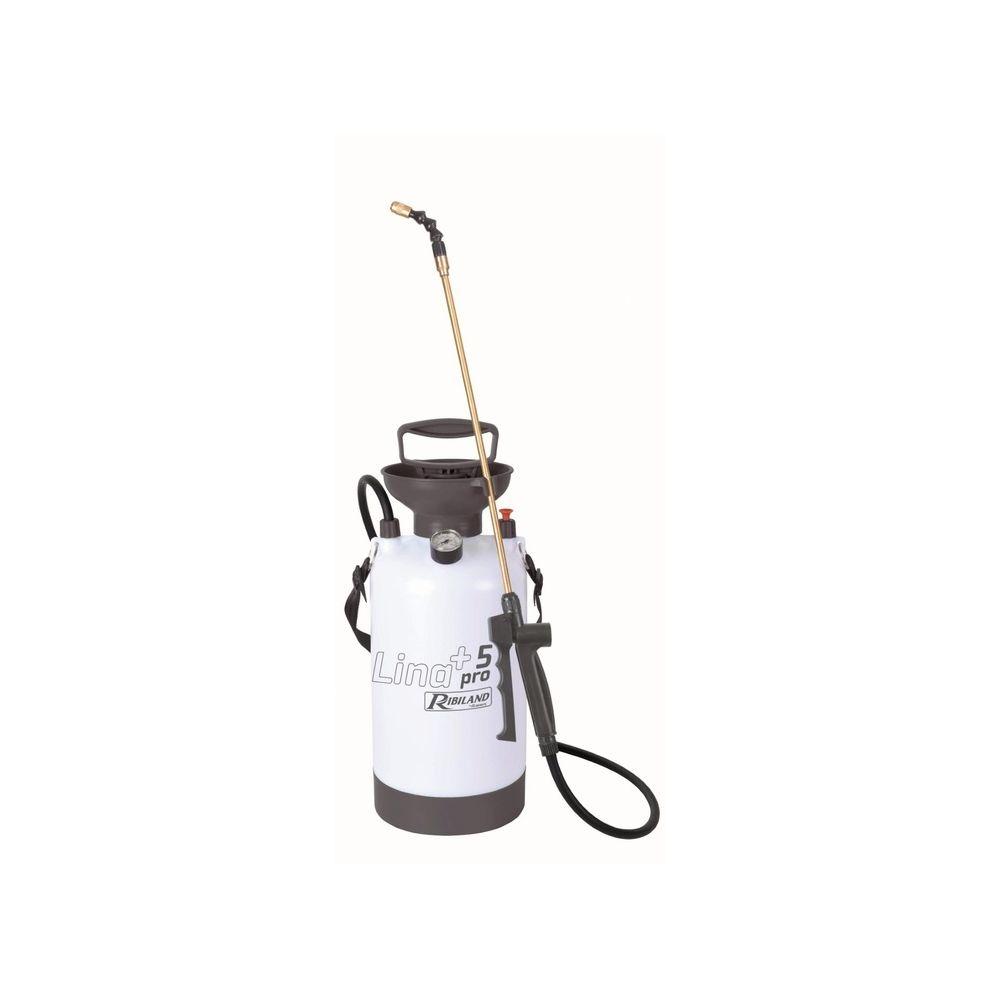 Ribimex Ribiland Pulverisateur professionnel a pression prealable 6.5 Litres PRP053P