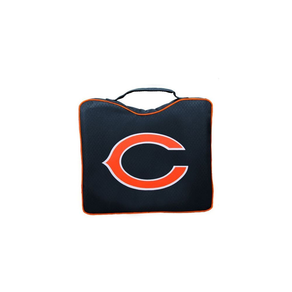 Rawlings NFL Lightweight Stadium Bleacher Seat Cushion with Carrying Strap Chicago Bears