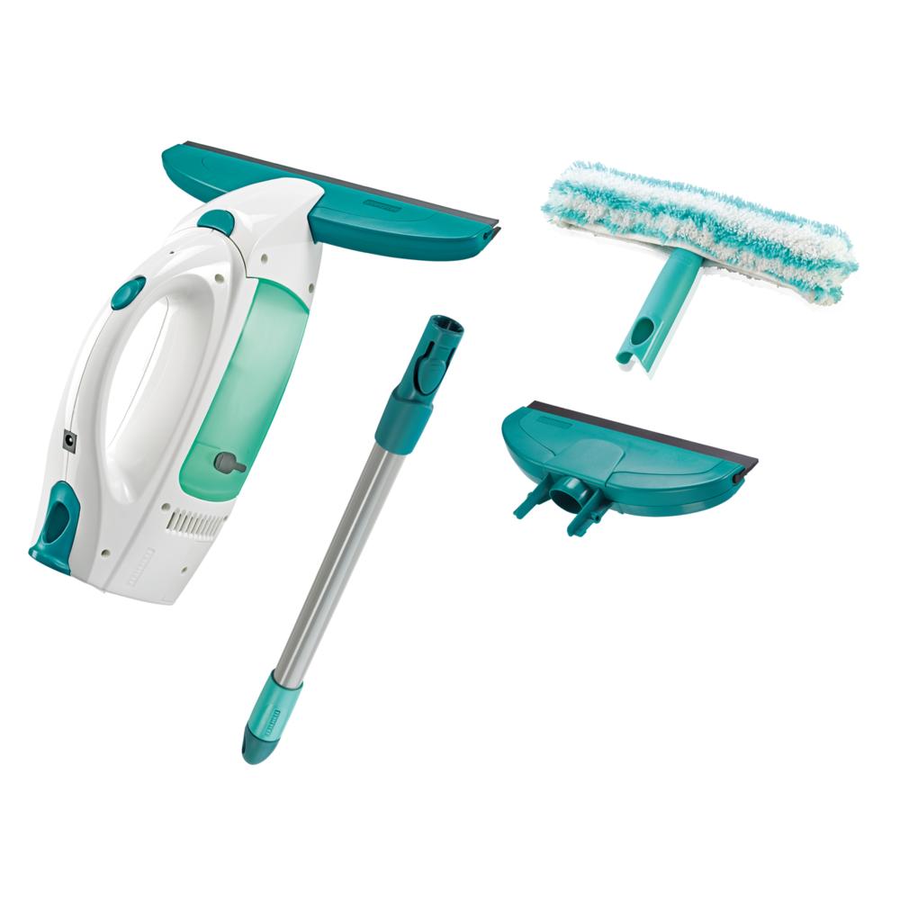 Leifheit Kit Aspirateur lave-vitres Dry & Clean avec manche et mouilleur et buse - 51016