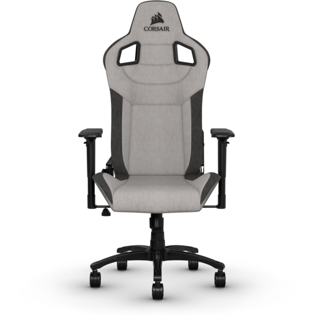 Corsair - T3 Rush - Gris/Gris anthracite - Chaise gamer