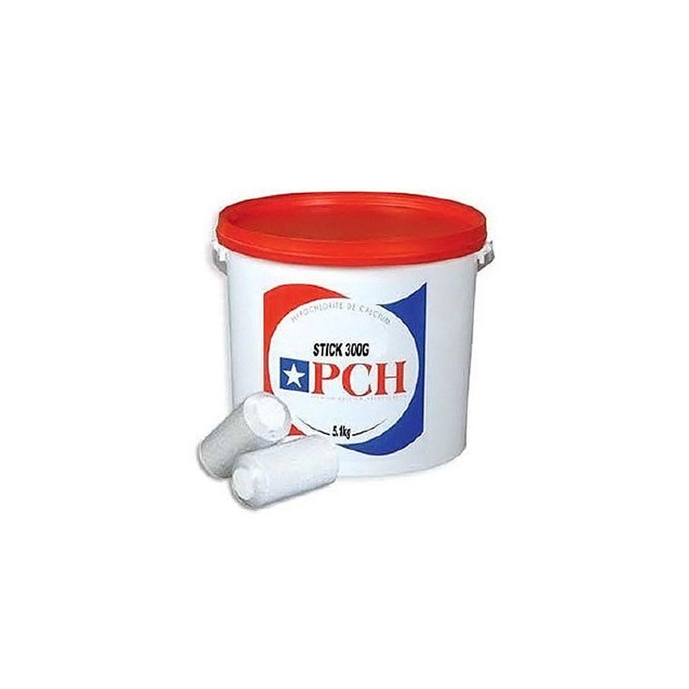 Pch pch - chlore lent stick 300g 5.1kg - hypochlorite calcium longue duree