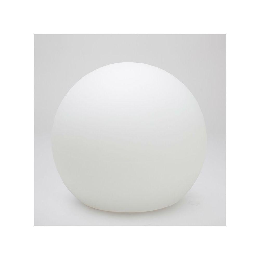New Garden BULY-Lampe baladeuse d'extérieur RGB solaire rechargeable Ø80cm Blanc New Garden