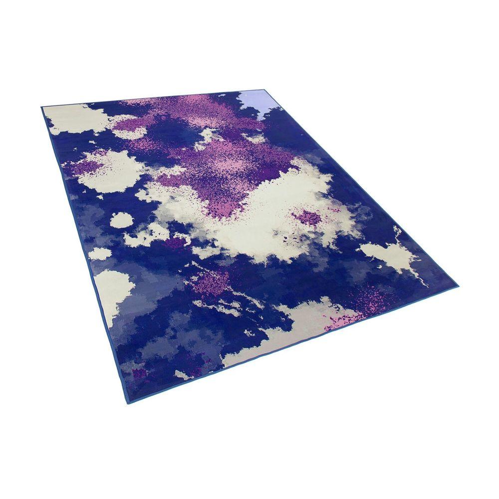 Beliani Beliani Tapis violet et pourpre 160 x 230 cm KADIRLI - coloré