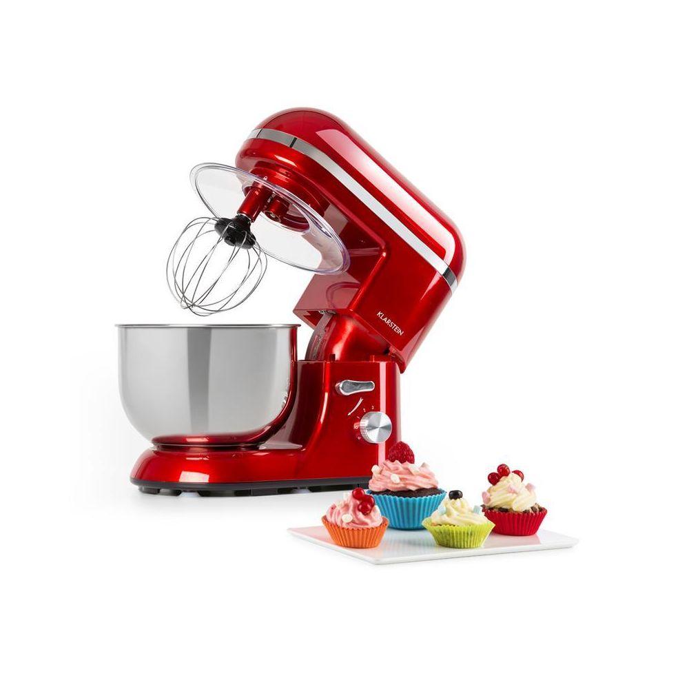 Klarstein Klarstein Bella Elegance robot culinaire 1300 W 1,7 ch 6 vitesses 5 litres rouge Klarstein