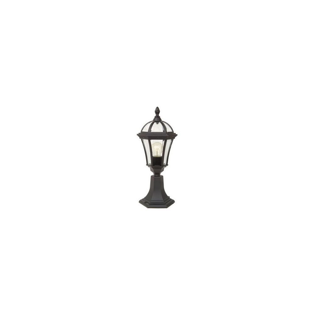 Garden Lights potelet eclairage Ledbury 1x100W Noir