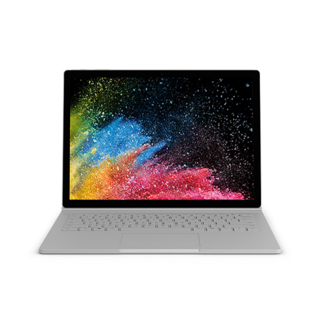 Microsoft - Surface Book 2 - 1 To - Intel Core i7 - Argent - PC Portable