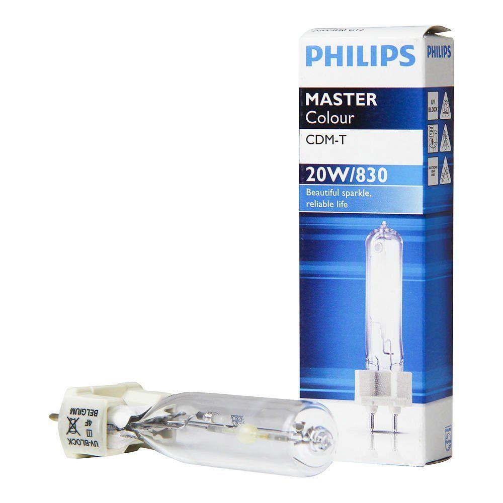 Philips Philips 871562 Ampoule G12 20W - MasterColour 3000K Blanc chaud