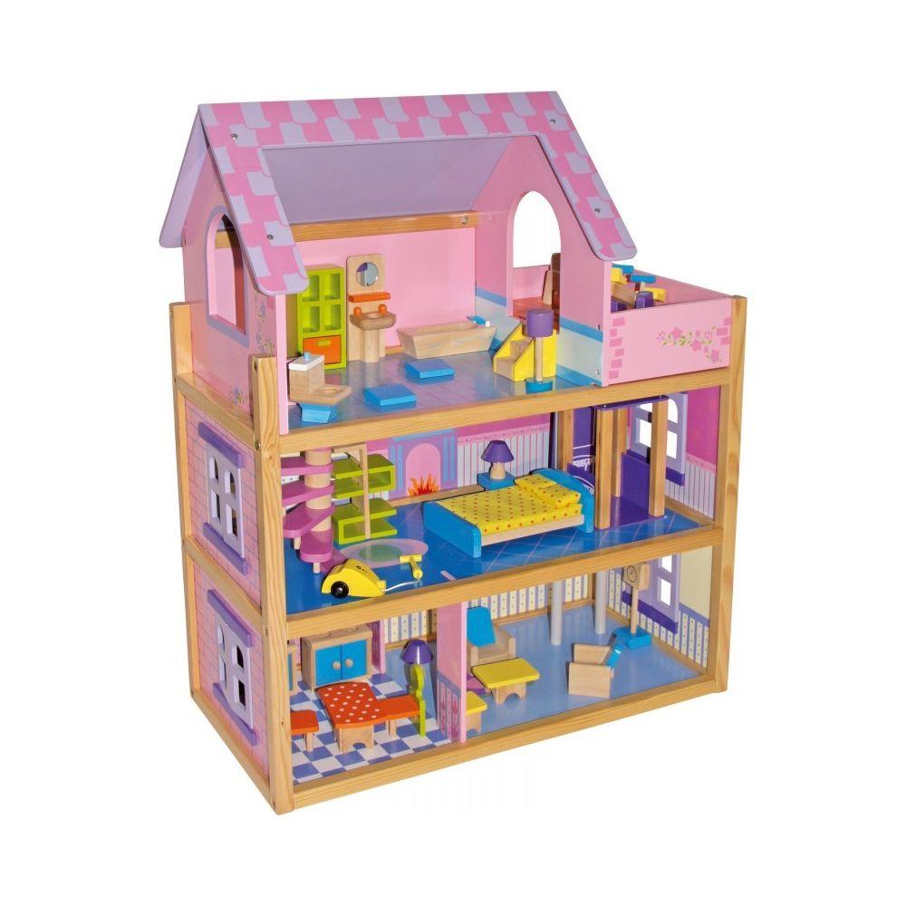 Small Foot Company Maison de poupée «Rose»