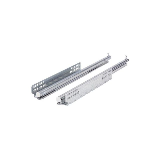 Hettich France - Paire de coulisses HETTICH Quadro V6 Silent system - 500 mm - 45293 - Hettich France