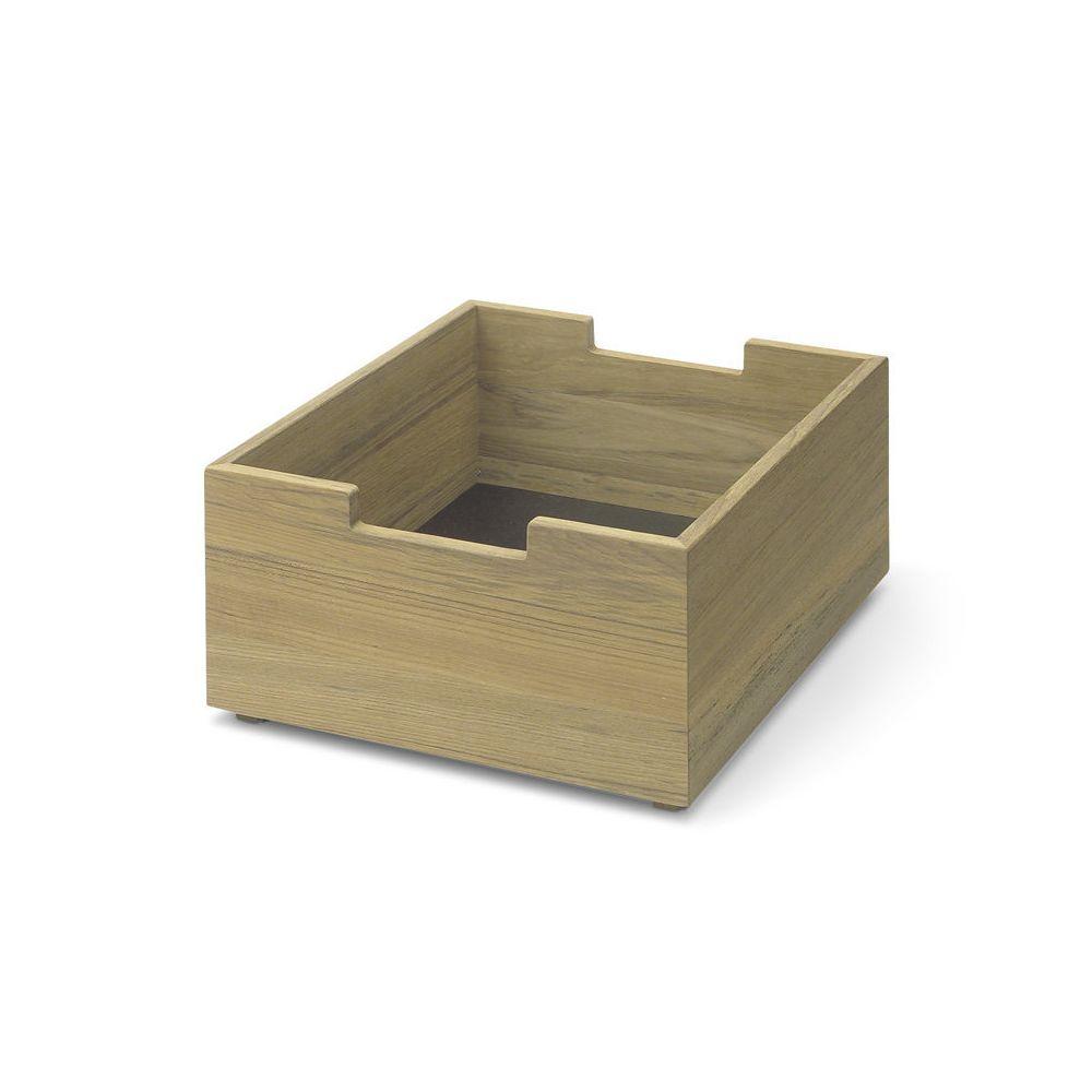 Skagerak Boîte Cutter petite - Chêne