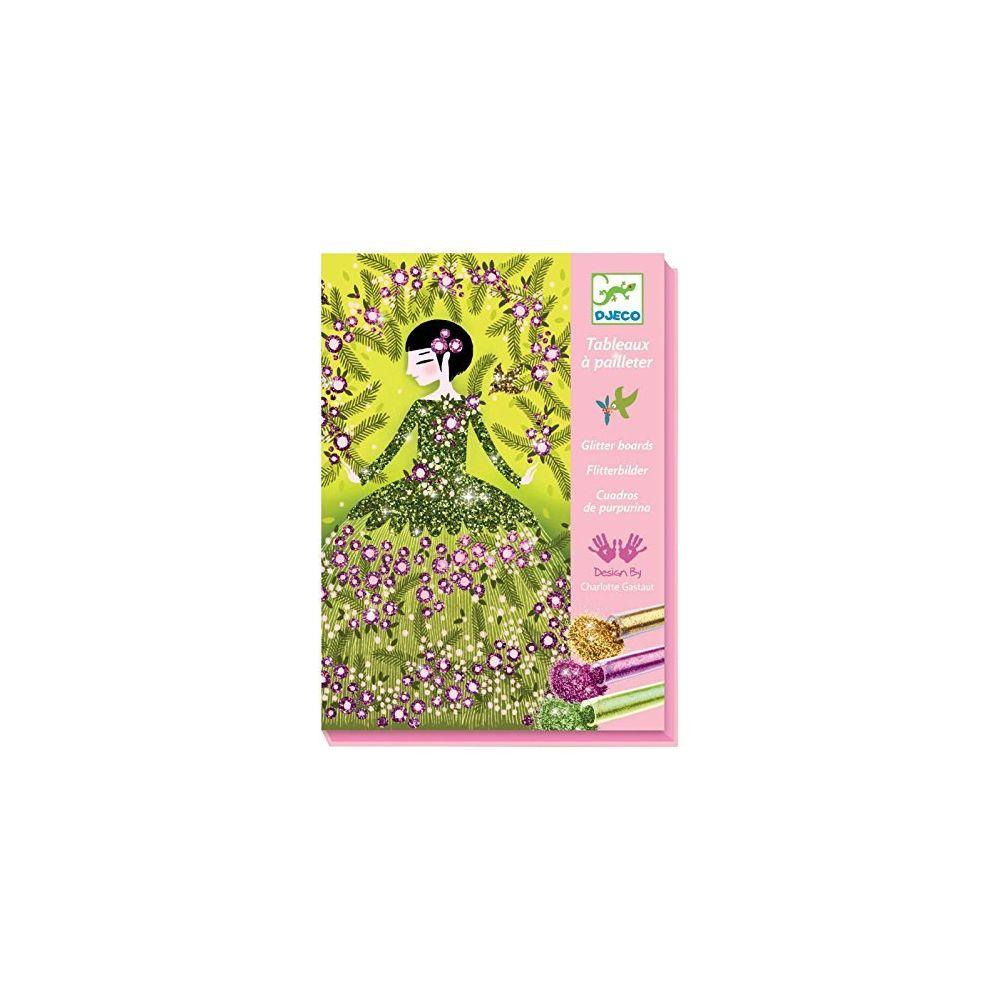 Djeco DJECO Colored Glitter Art Kit Dresses