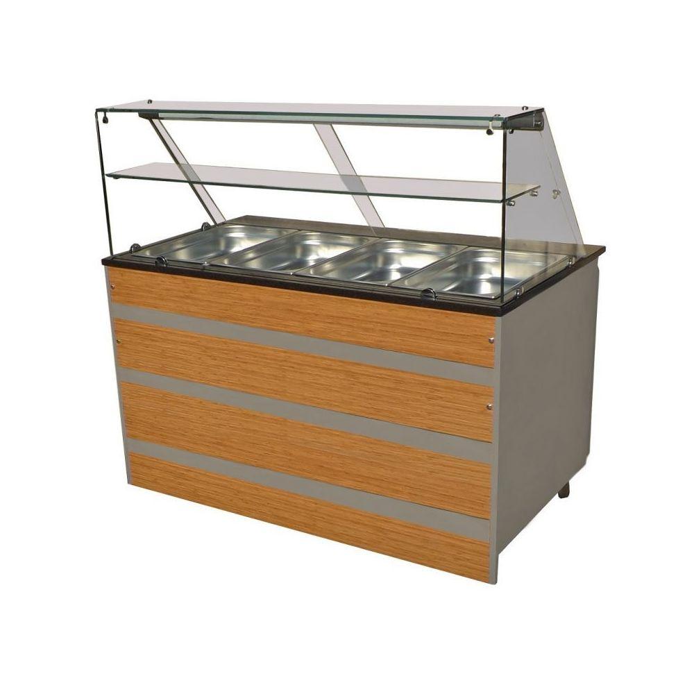 Combisteel Buffet Froid Professionnel - De 3 à 5 GN 1/1 - Combisteel - 1400 mm