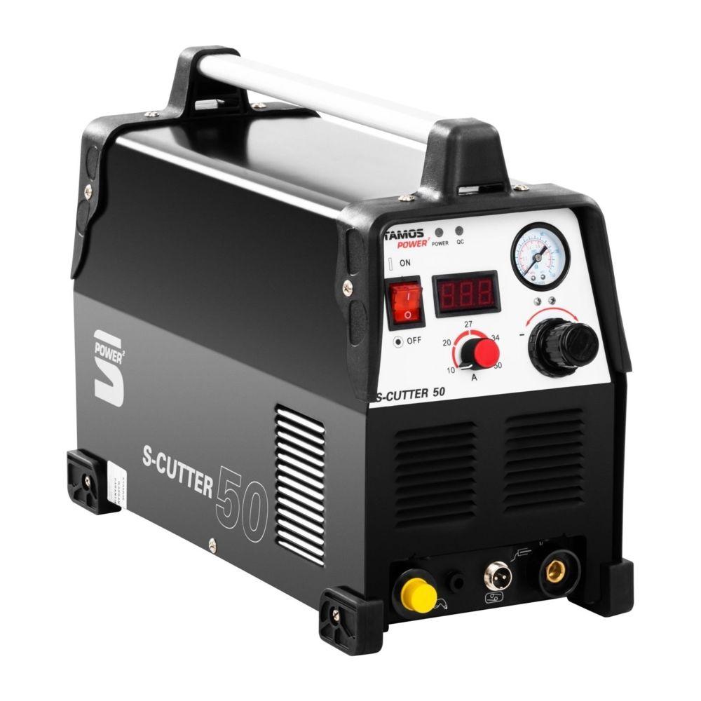Helloshop26 Découpeur plasma - 50A - 230V - Pro professionnel 3414013