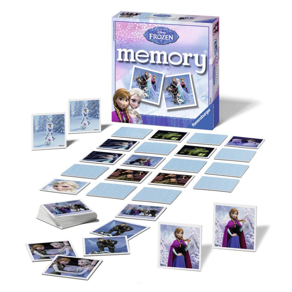 Ravensburger LA REINE DES NEIGES - Jeu de société Grand Memory® - 21108