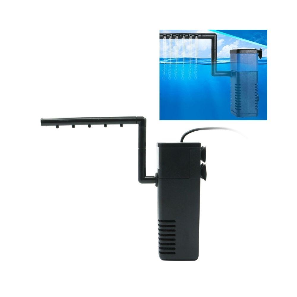 Wewoo Filtre d'Aquarium 8W 600L/H Multi-fonction Submersible Aquarium pompe à eau de circulation Fish Tank interne à air