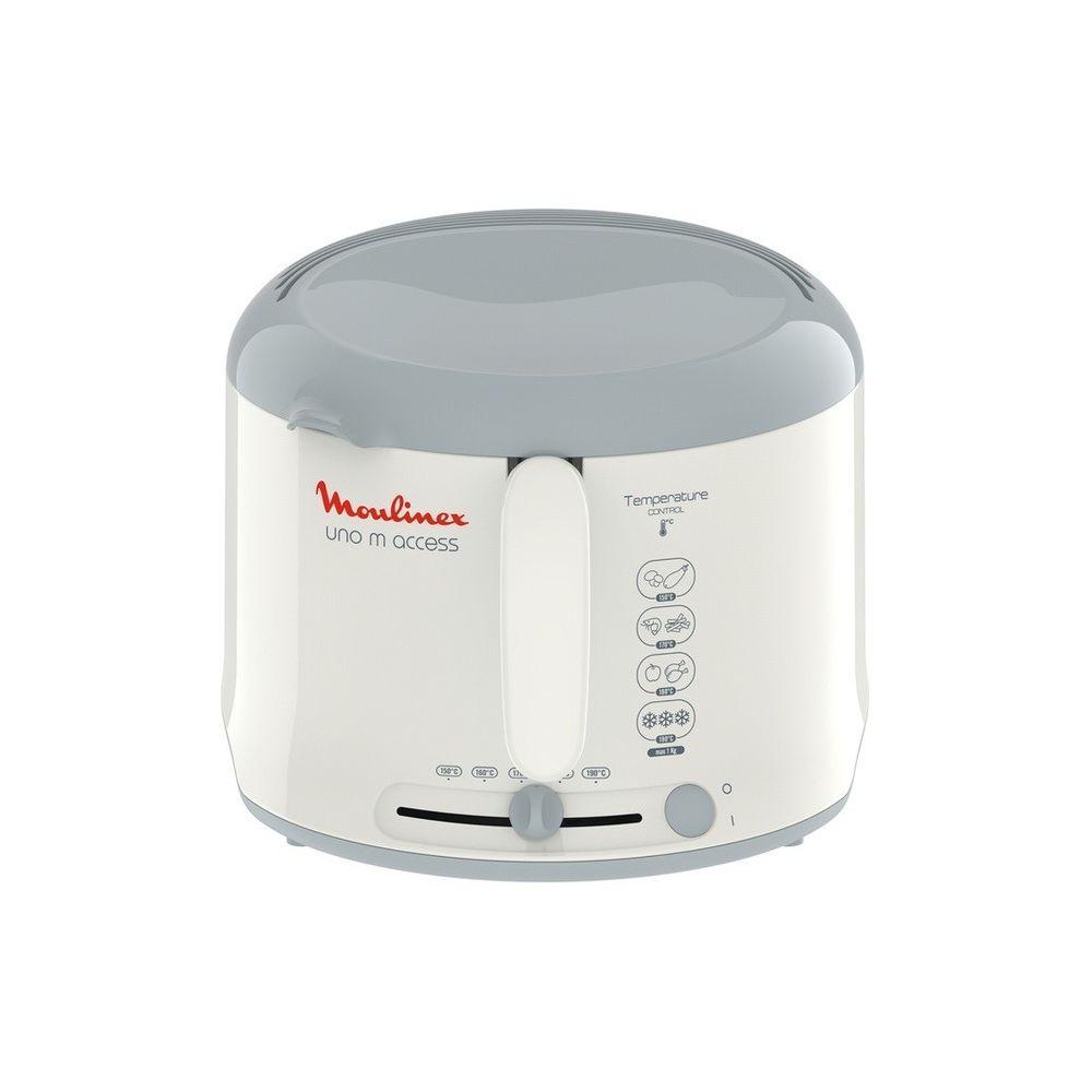 Moulinex Friteuse Uno M Access - AF121110 - Blanc/Gris