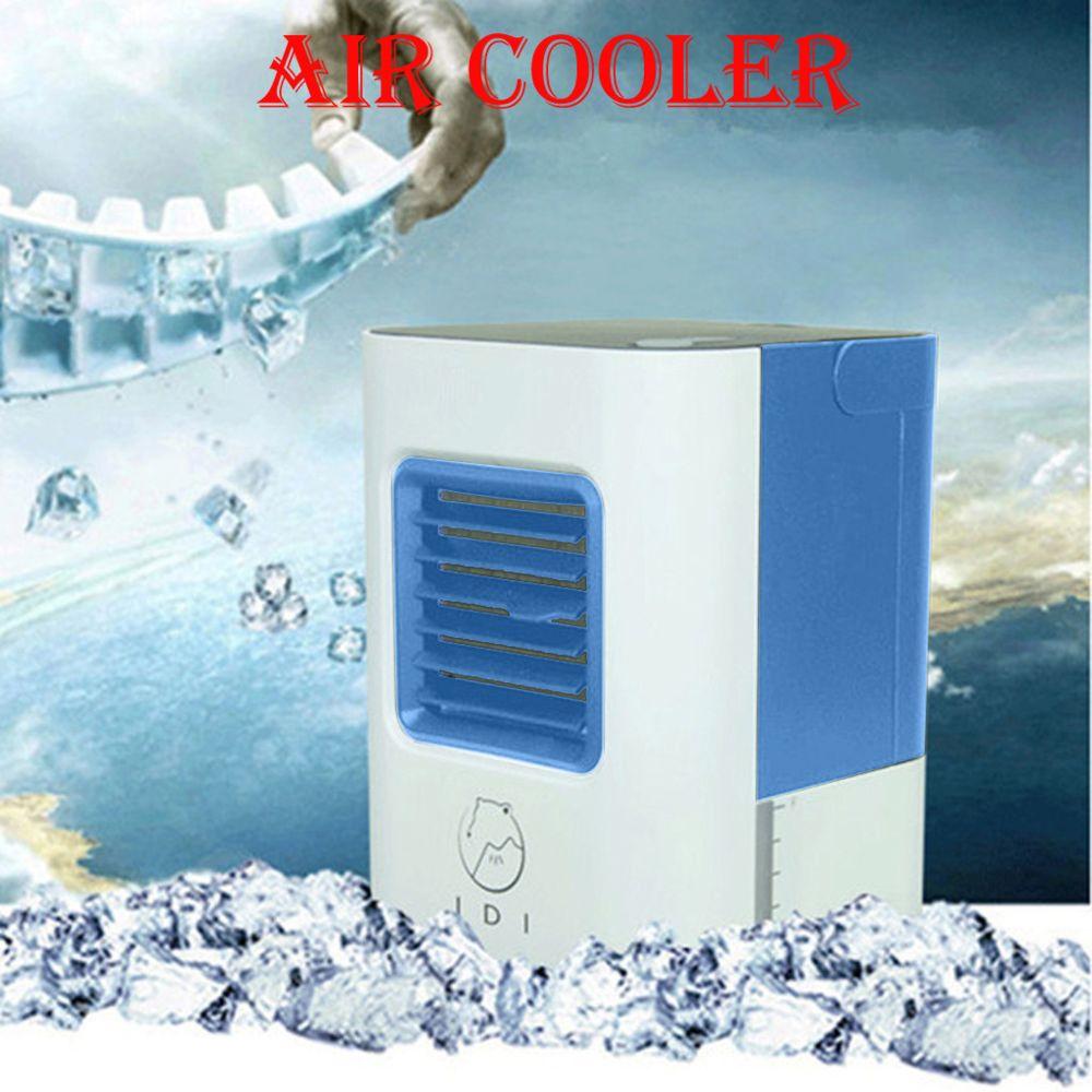 Refroidisseur dair Mini Climatiseur Portable USB HebyTinco Climatiseur Portable Climatiseur Mobile Humidificateur pour Chambre Bureau Ventilateur Glaci/ère de Bureau