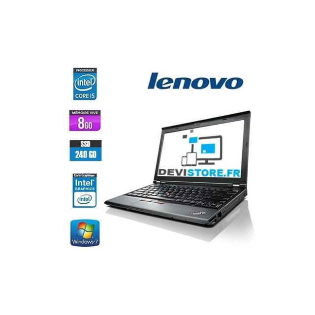 Lenovo - LENOVO THINKPAD X230 CORE I5 3320M - Ordinateur portable reconditionné